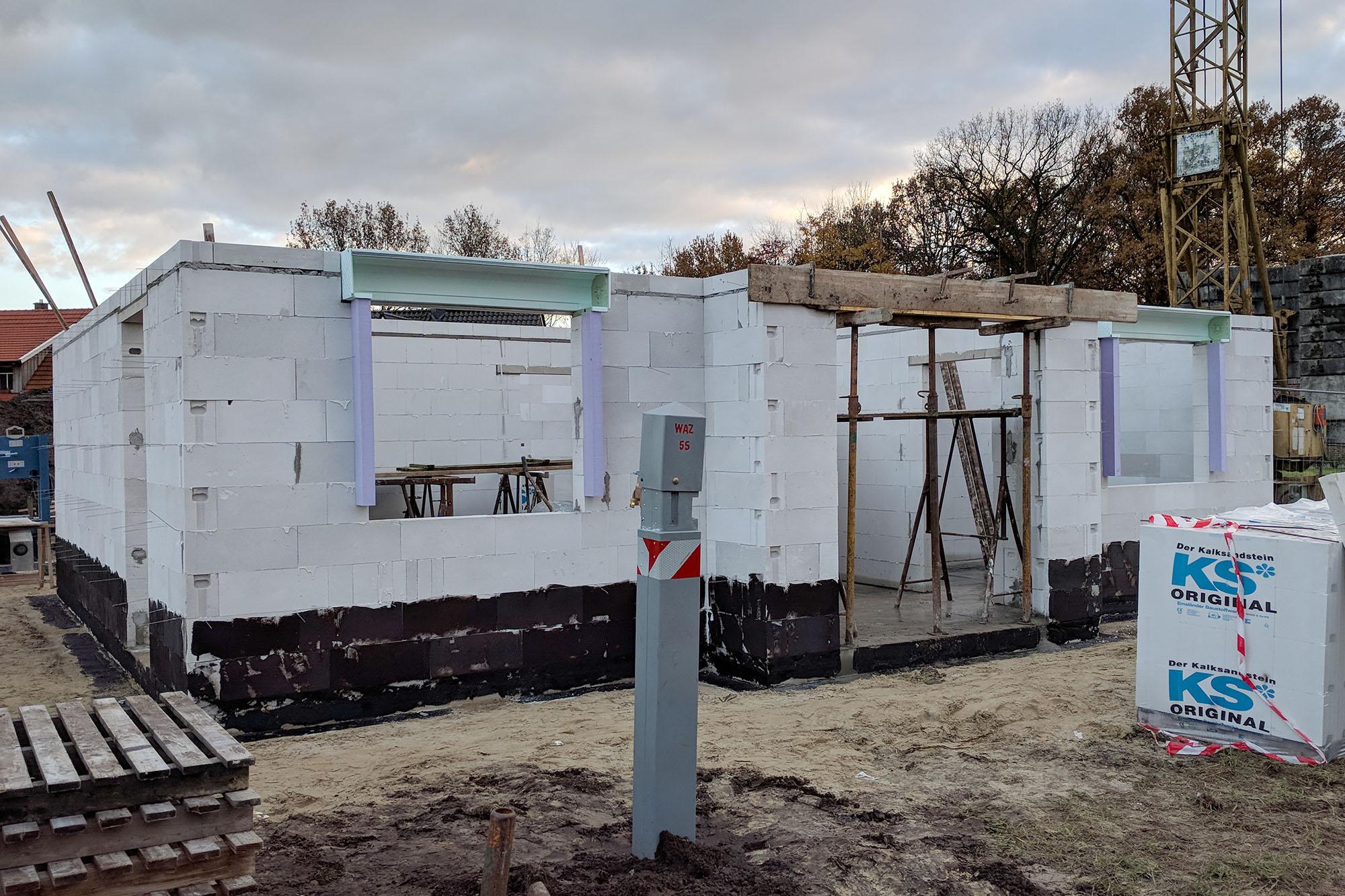 Turbo Die ersten Mauern werden gestellt – daker.de CV66
